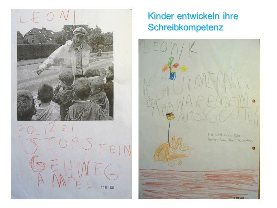 Kinder entwickeln ihre Schreibkompetenz