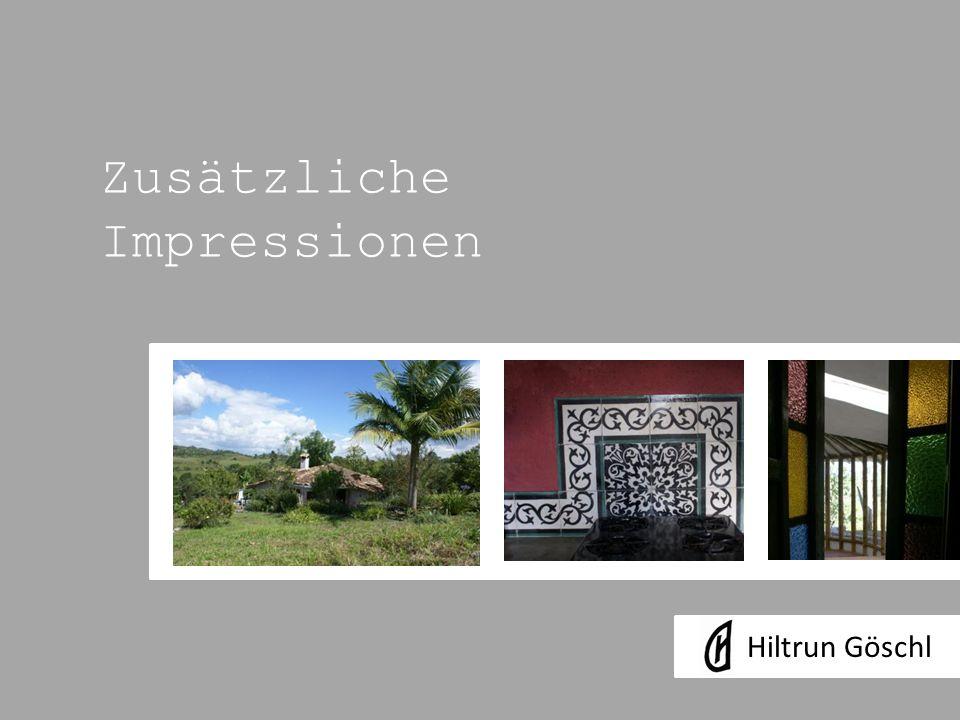 Zusätzliche Impressionen Hiltrun Göschl