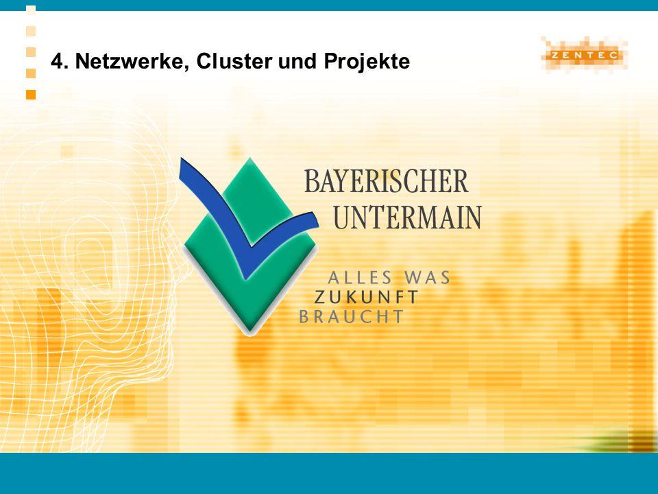 4. Netzwerke, Cluster und Projekte