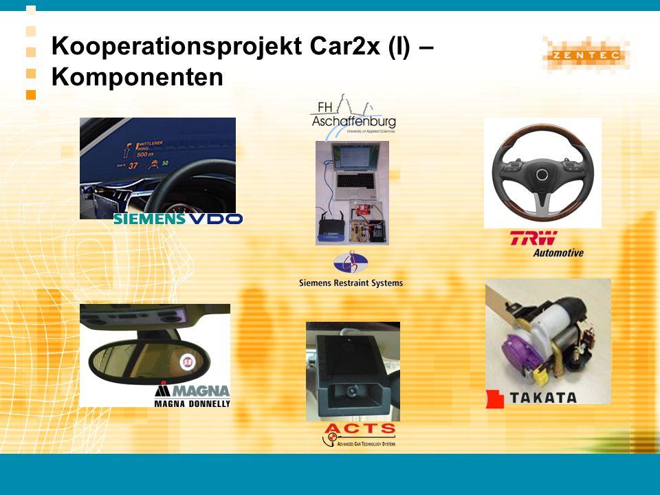 Kooperationsprojekt Car2x (I) – Komponenten