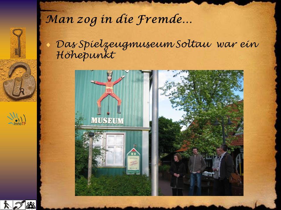 Man zog in die Fremde… Das Spielzeugmuseum Soltau war ein Höhepunkt