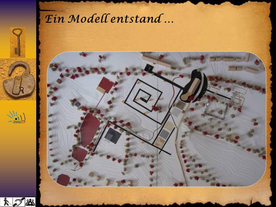 Ein Modell entstand …