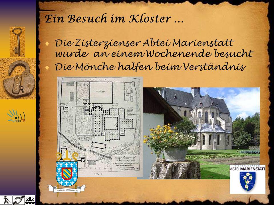 Ein Besuch im Kloster … Die Zisterzienser Abtei Marienstatt wurde an einem Wochenende besucht Die Mönche halfen beim Verständnis