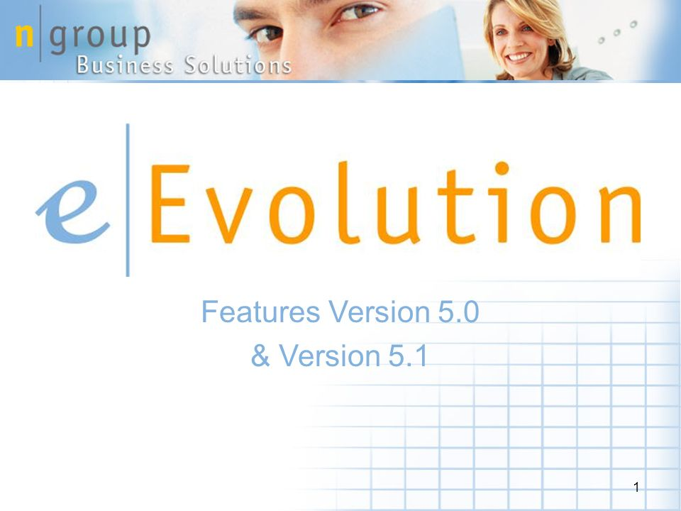 1 Features Version 5.0 & Version 5.1