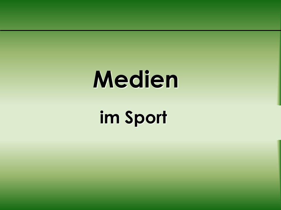 Medien im Sport