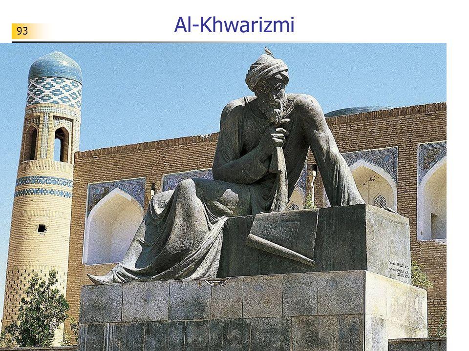 Al-Khwarizmi 93