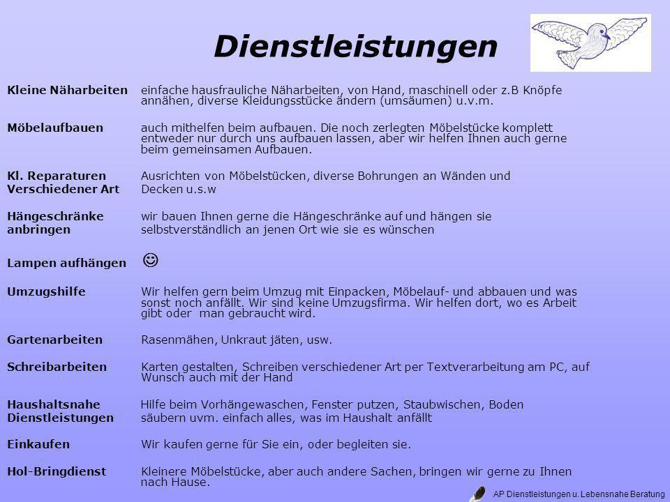Daten Telefon: 09444 / 239973 Handy: 01522 / 4682640 Mail: Lb-AP@arcor.de Web: http://de.geocities.com/morgana1962de/http://de.geocities.com/morgana1962de/ Fahrt und Tat : www.Fahrt-Tat.dewww.Fahrt-Tat.de AP Dienstleistungen u.