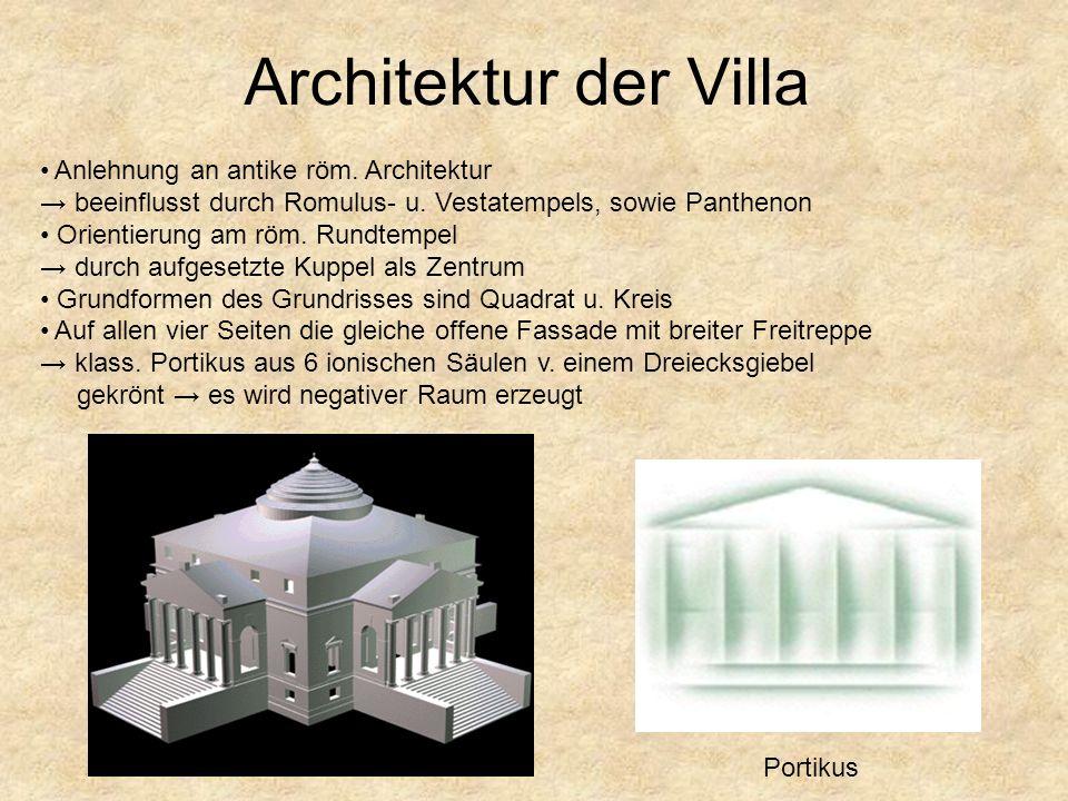 Was sind die Unterschiede zwischen dem Idealentwurf u. dem tatsächlich gebautem Gebäude Außentreppen Kuppelform Form u. Material der Innentreppen in d