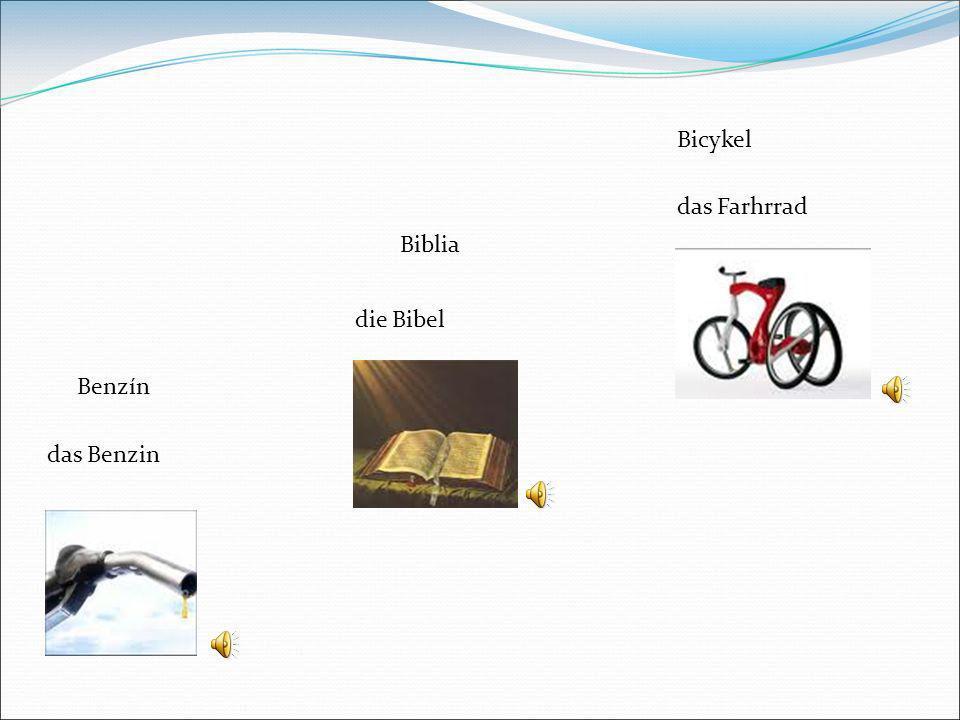 Benzín Biblia Bicykel das Benzin die Bibel das Farhrrad