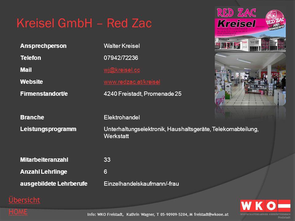 Info: WKO Freistadt, Kathrin Wagner, T 05-90909-5204, M freistadt@wkooe.at HOME Übersicht Ansprechperson Telefon Mail Website Firmenstandort/e Branche Leistungsprogramm Mitarbeiteranzahl Anzahl Lehrlinge ausgebildete Lehrberufe Kurhotel Bad Zell AnsprechpersonBirgit Oberherber Telefon07263/7515-61 Mailb.oberherber@lebensquell-badzell.at Websitewww.lebensquell-badzell.com Firmenstandort/e4283 Bad Zell, Lebensquellplatz 1 BrancheHotel- und Gastgewerbe, Kurbetrieb LeistungsprogrammHotel, Wellnessbereich mit Bad auch für Tagesgäste, Kurzentrum, Seminare, Veranstaltungen, Hochzeiten Mitarbeiteranzahl200 Anzahl Lehrlinge13 ausgebildete LehrberufeKoch/Köchin, Hotel- und Gastgewerbeassistent/in