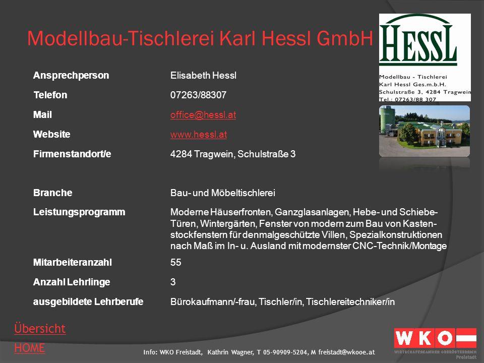 Info: WKO Freistadt, Kathrin Wagner, T 05-90909-5204, M freistadt@wkooe.at HOME Übersicht Ansprechperson Telefon Mail Website Firmenstandort/e Branche Leistungsprogramm Mitarbeiteranzahl Anzahl Lehrlinge ausgebildete Lehrberufe Mühlviertler Alm Biofleisch GmbH AnsprechpersonManfred Huber (GF), Katja Huber Telefon07956/7970 Mailsonnberg@biofleisch.biz Websitewww.biofleisch.biz Firmenstandort/e4273 Unterweißenbach 168 BrancheFleischergewerbe mit Handel LeistungsprogrammVerarbeitung von 100% biologischer Tiere, Produktion biologischer Fleisch-, Wurst- und Speckwaren ohne chemische Zusätze Mitarbeiteranzahl35 Anzahl Lehrlinge2 ausgebildete LehrberufeFleischverarbeitung, Großhandelskaufmann/-frau