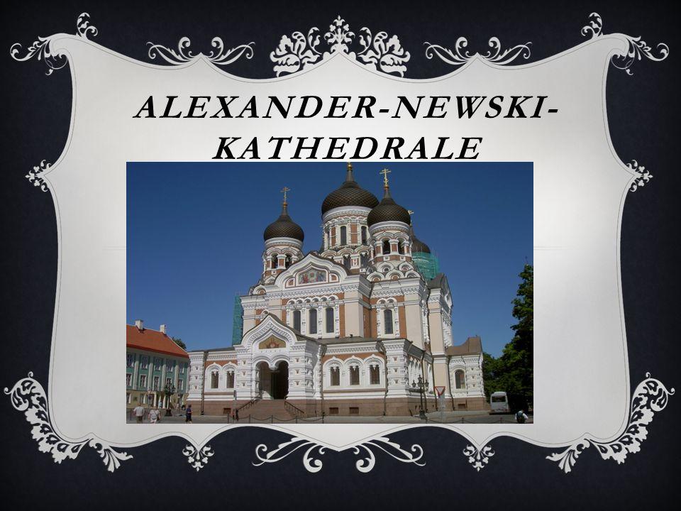 ALEXANDER-NEWSKI- KATHEDRALE