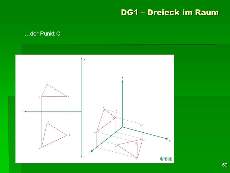 62 DG1 – Dreieck im Raum …der Punkt C