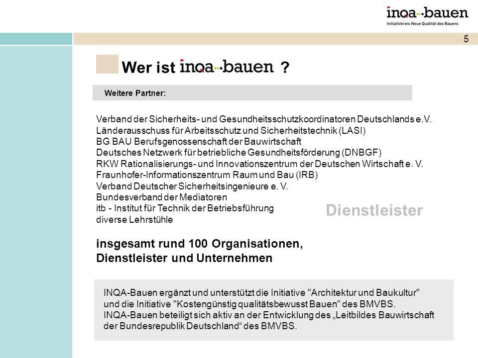 5 Weitere Partner: Verband der Sicherheits- und Gesundheitsschutzkoordinatoren Deutschlands e.V.