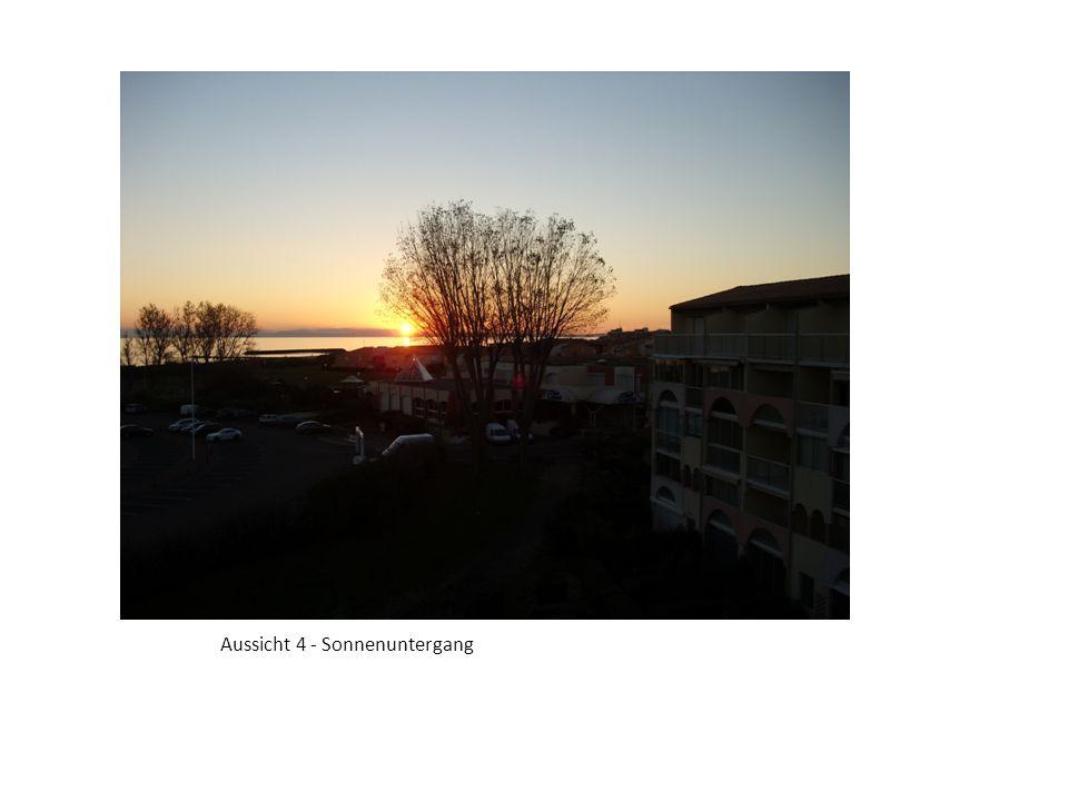Aussicht 4 - Sonnenuntergang