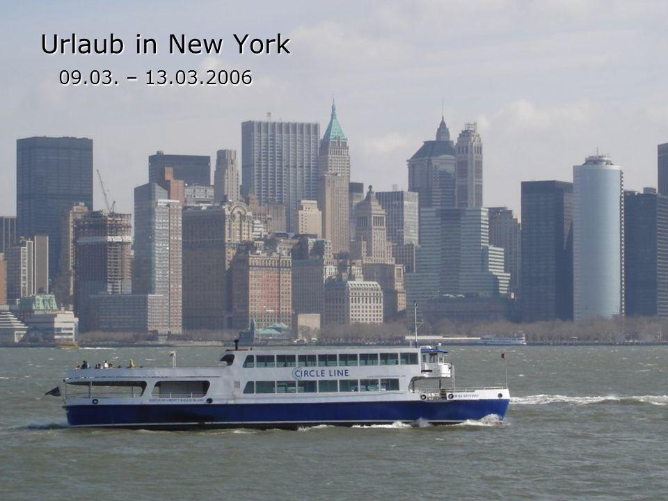 Empire State Building Zunächst fuhren wir in den 86.