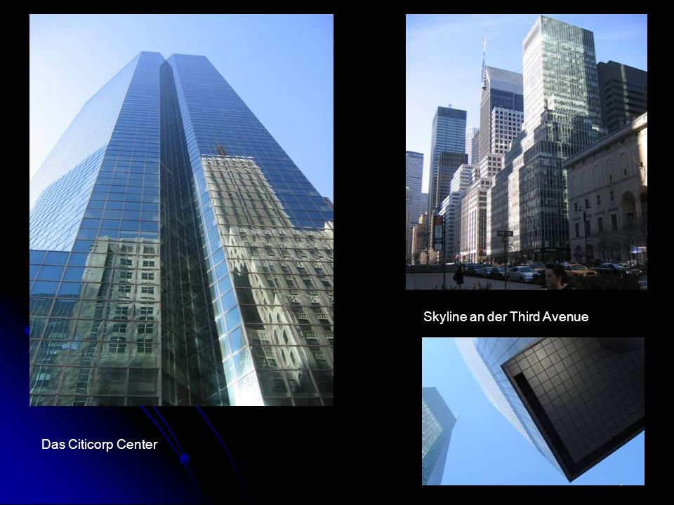 Das Citicorp Center Skyline an der Third Avenue