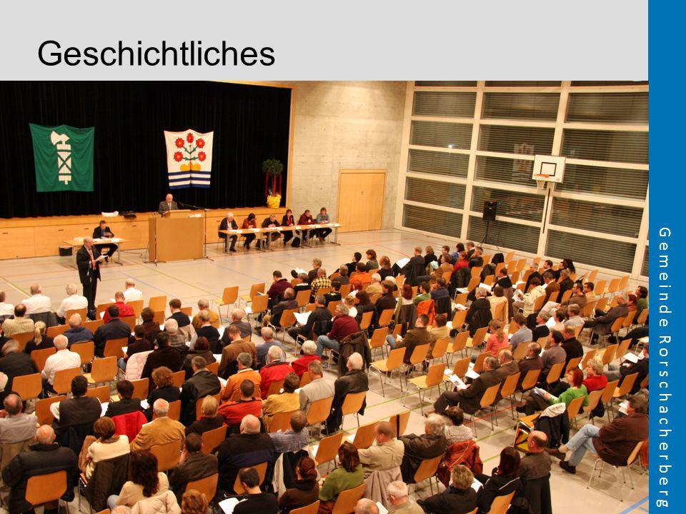 Geschichtliches FOLIE VORGESCHICHTE Bild Bürgerversammlung 2008 (Marcel)