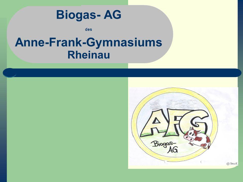 Unser Index: Über uns Was haben wir vor.- Gründe für den Bau Was ist Biogas überhaupt.