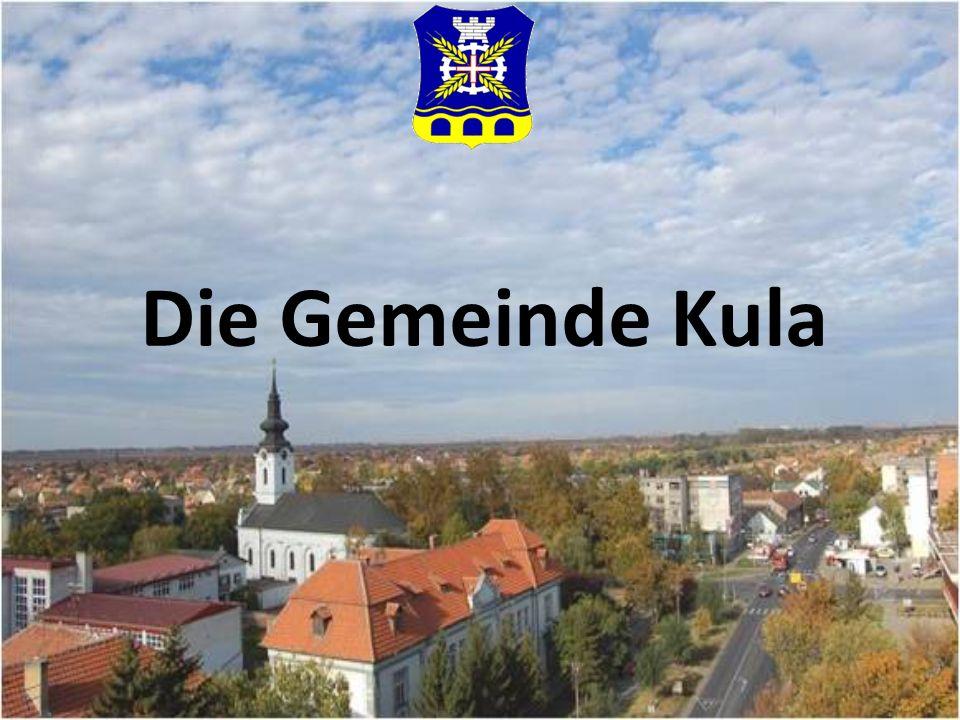 Die Gemeinde Kula befindet sich im Landeskreis von West-Backa der Autonomischen Provinz Vojvodina, einer der fruchtbarsten Ebenen in Vojvodina.