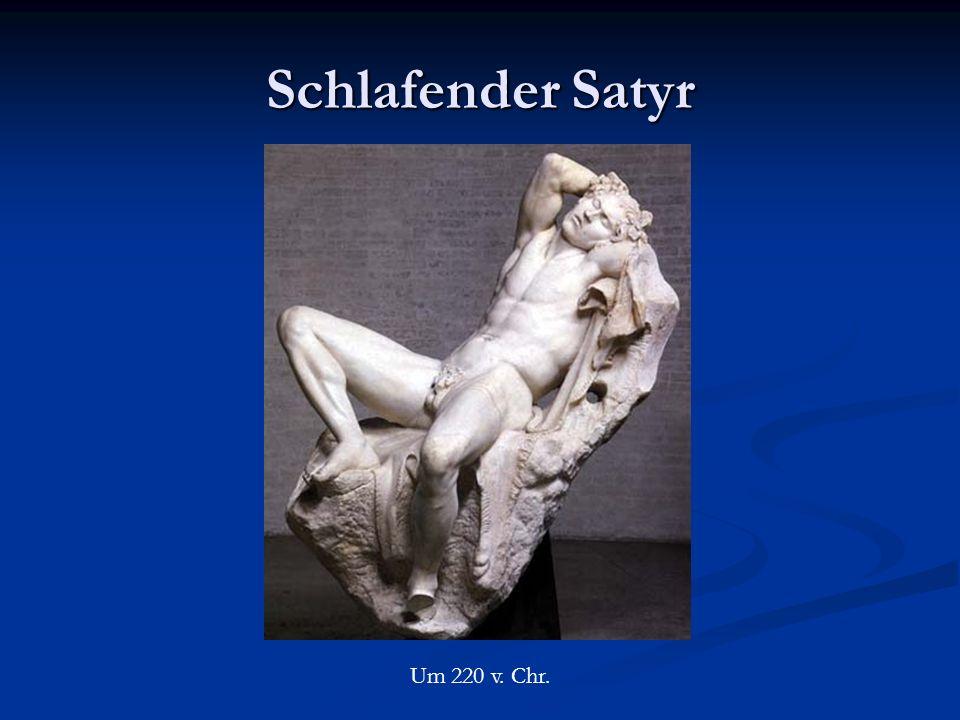 Schlafender Satyr Um 220 v. Chr.