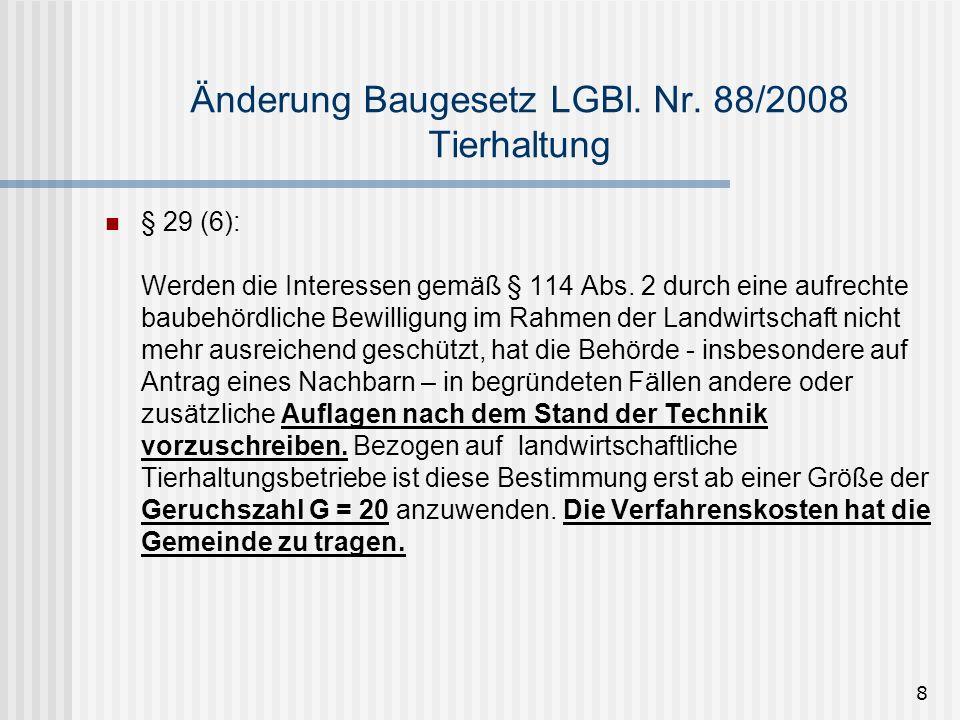 9 Änderung Baugesetz LGBl.Nr.