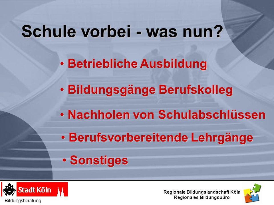 Information Im BIZ Berufskollegs in Köln stellen sich vor Information Information November 2012 Bildungsberatung