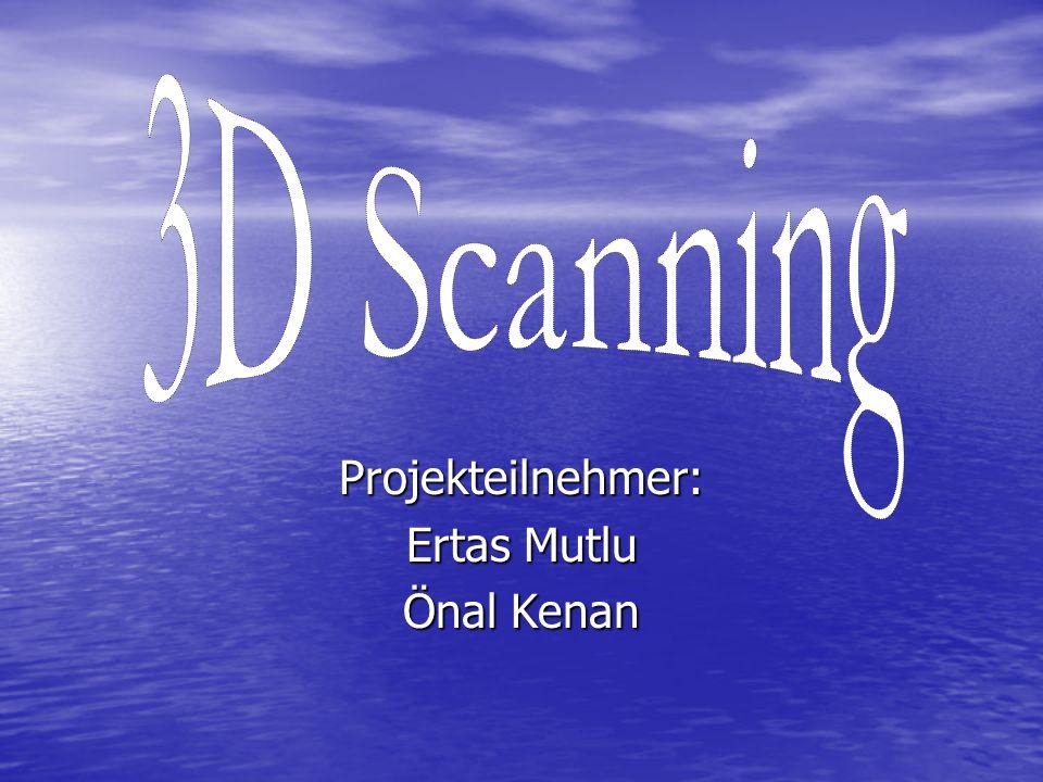 Was ist 3D Scanning? Ist ein Verfahren zur berührungslosen dreidimensionale Erfassung von Objekten.