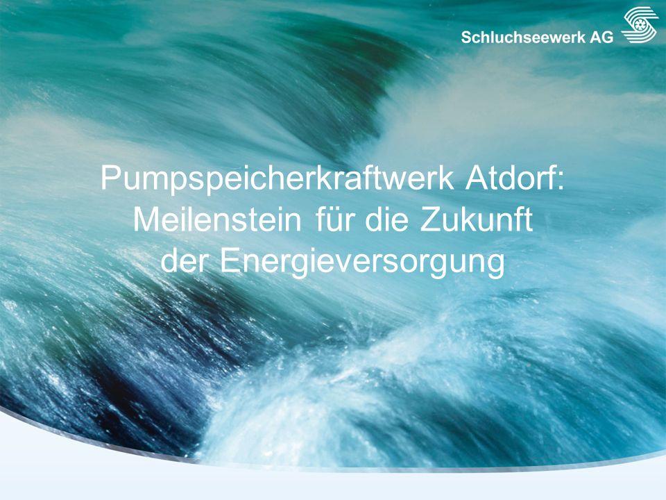 Pumpspeicherkraftwerk Atdorf: Meilenstein für die Zukunft der Energieversorgung