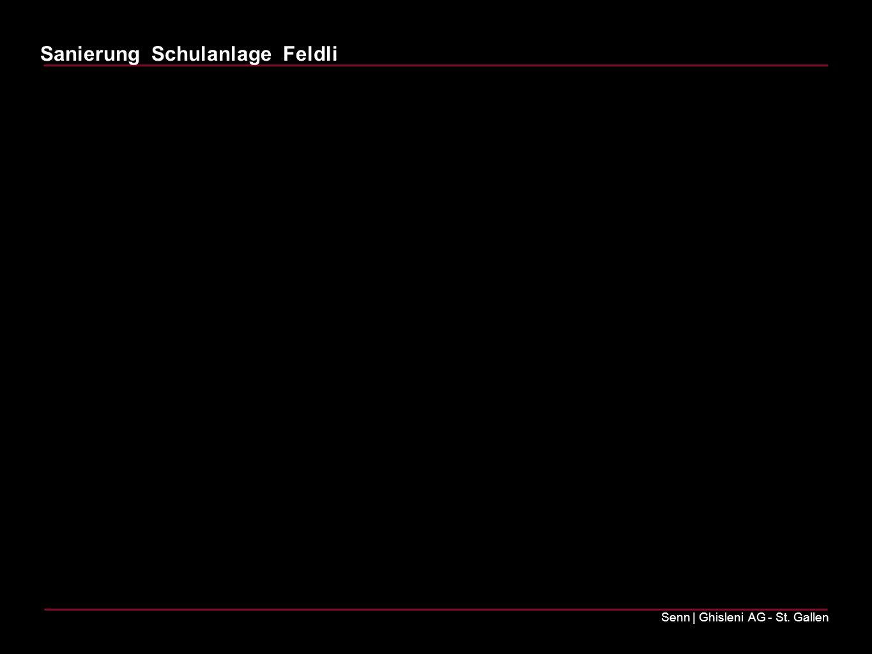Sanierung Schulanlage Feldli Senn   Ghisleni AG - St. Gallen Projektvorstellung