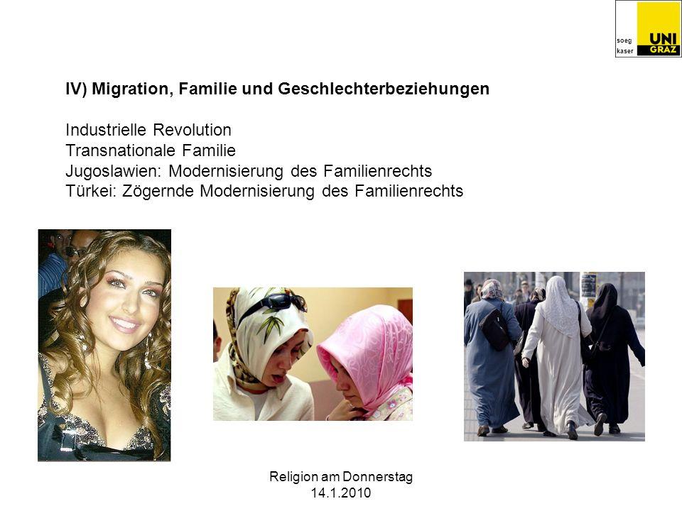 soeg kaser Religion am Donnerstag 14.1.2010 III) Sozialismus, Familien- und Geschlechterbeziehungen Dreifachbelastung Sozialistische Familie Bulgarien