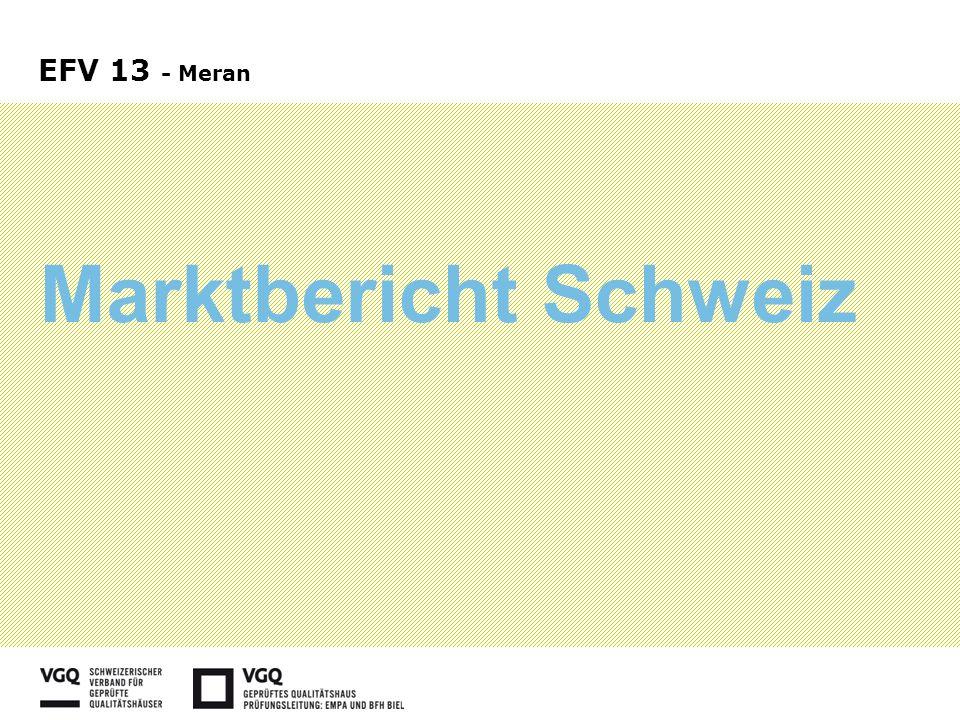 Marktbericht Schweiz EFV 13 - Meran
