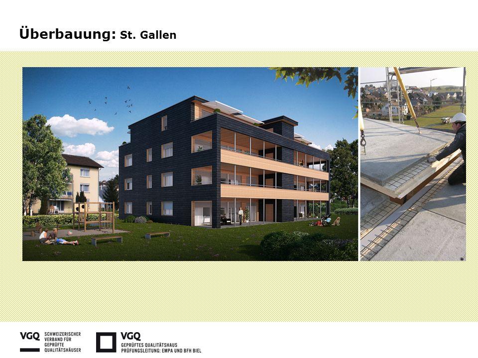 Überbauung: St. Gallen