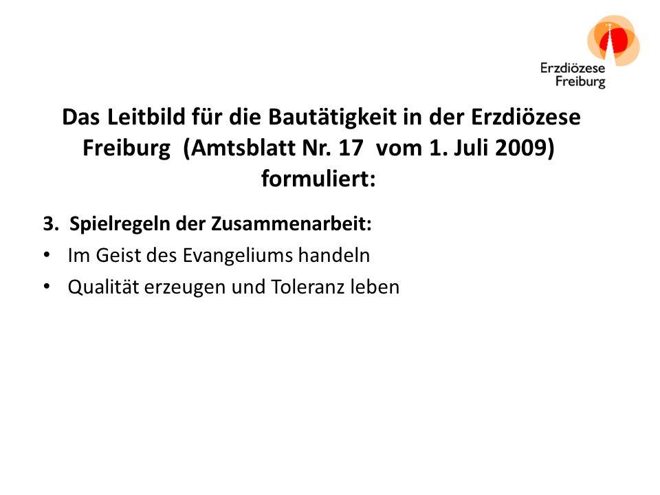 Die Kirchliche Bauordnung (KBauO) vom 24.Juni 2009 (Amtsblatt Nr.