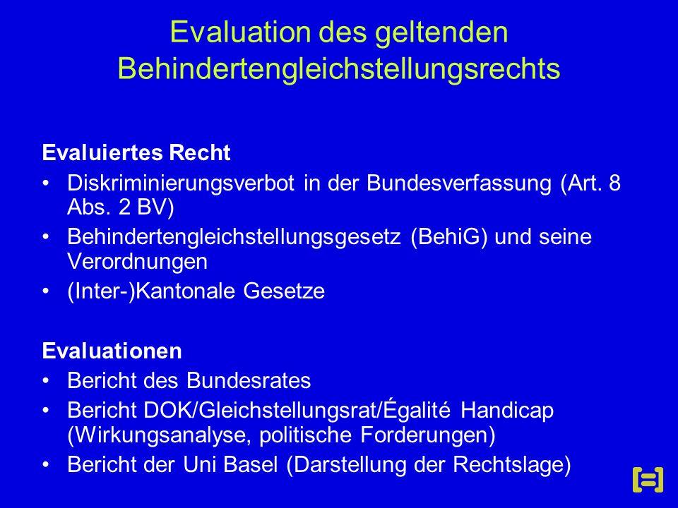 Zentrale Erkenntnisse Bericht Bundesrat Bau –Positive Trends in Richtung Verbesserung –Noch keine strukt.