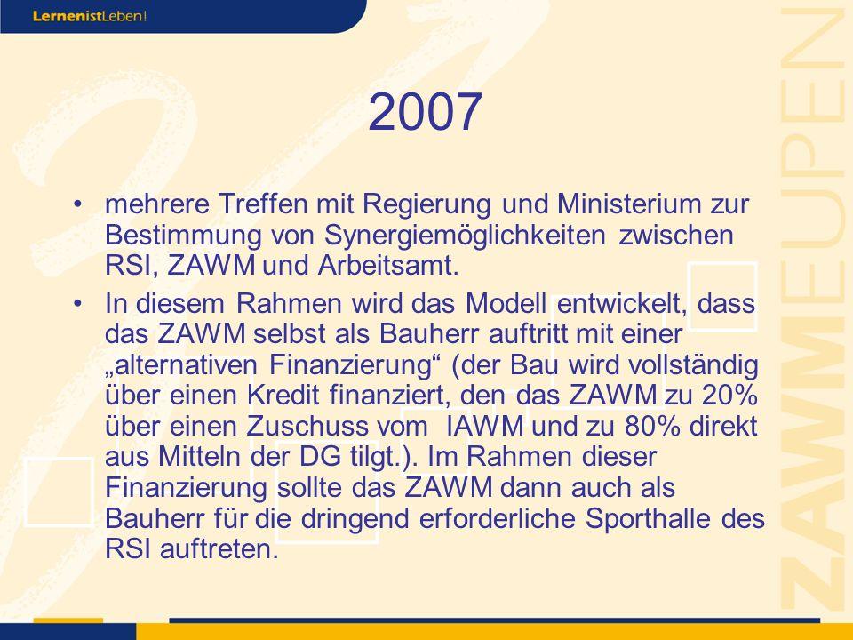 2007 Im Mai findet das letzte Treffen statt.