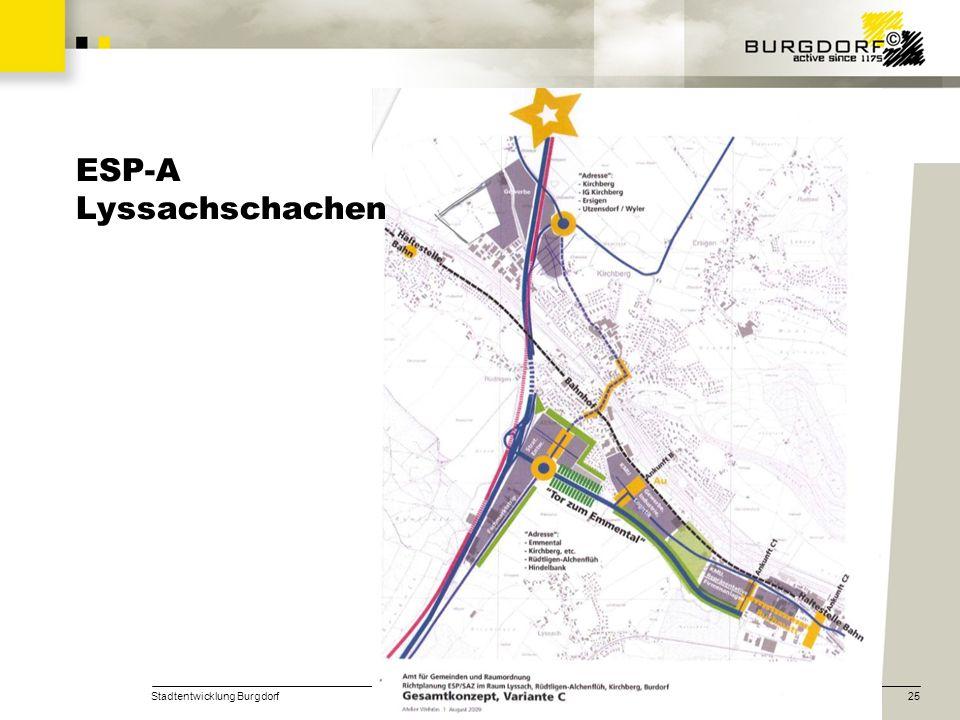 Stadtentwicklung Burgdorf25 ESP-A Lyssachschachen