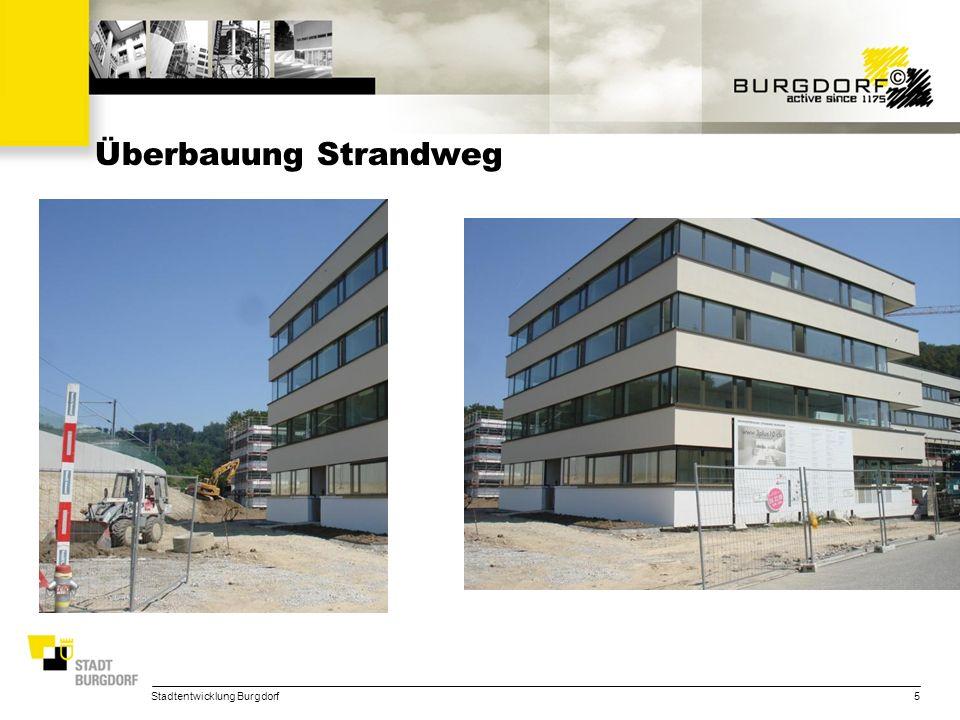 Stadtentwicklung Burgdorf26 STADTENTWICKLUNG Aktuelle Wettbewerbe –Zeughausareal (Kanton; PPP, Zuschlag Sept.