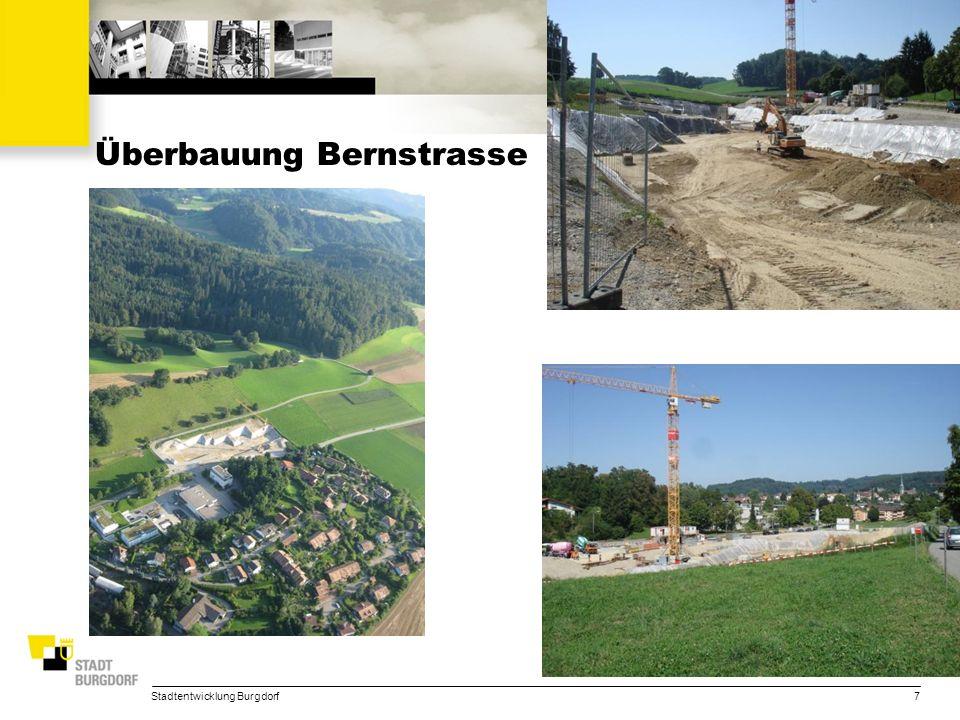 Stadtentwicklung Burgdorf28 Überbauung Uferweg Masterplan Überbauung Uferweg
