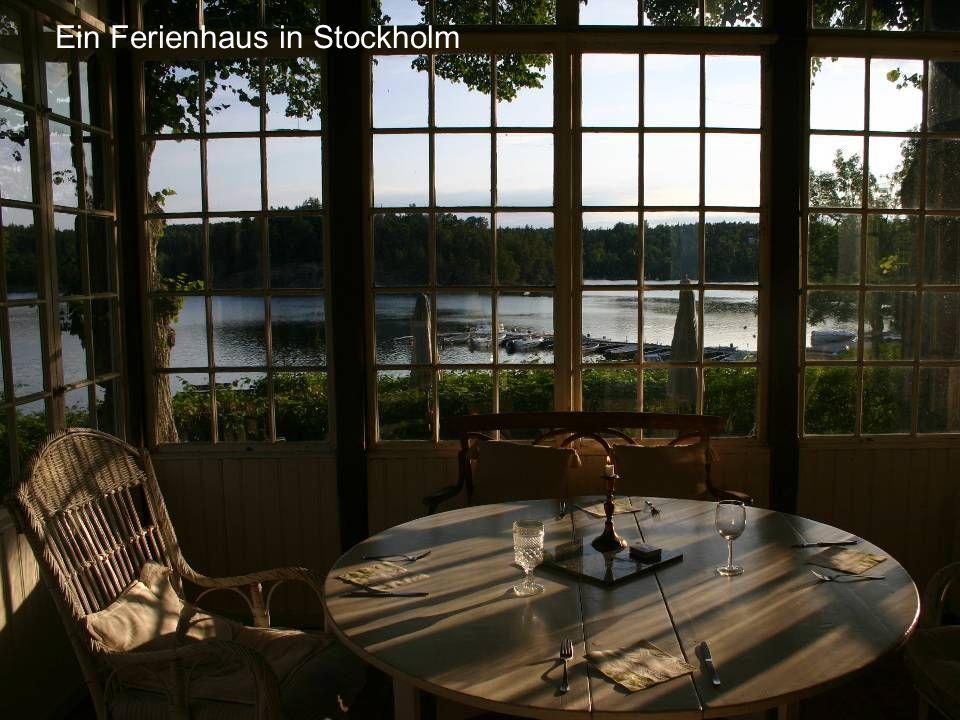 Ein Ferienhaus in Stockholm