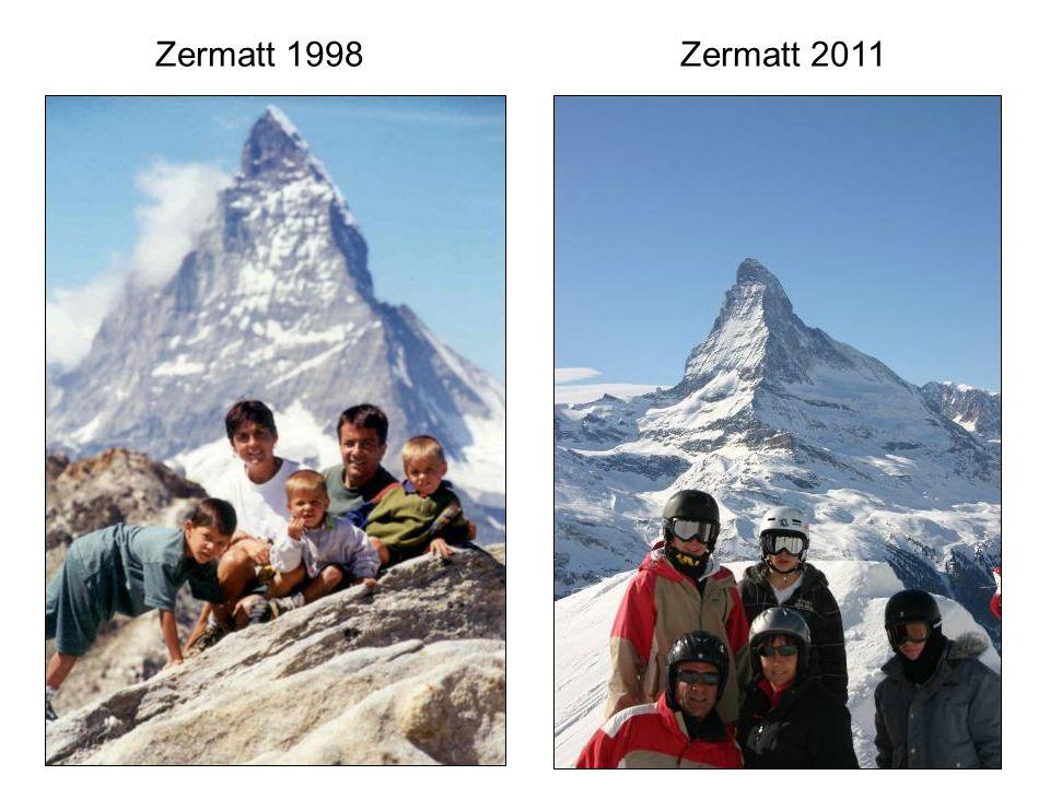 Zermatt 1998Zermatt 2011