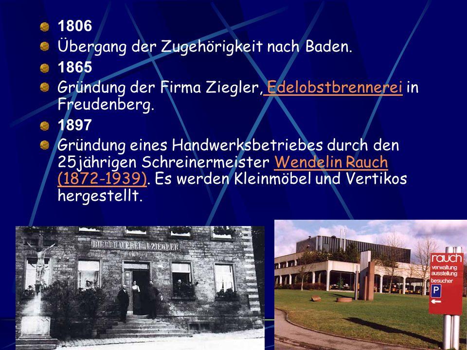 1611/1612 Pest in Freudenberg. 500 Menschen sterben. Weitere Pestjahre sind 1625-1627 und 1635. 1627 Das Amtshaus wird vom Würzburger Bischof Philipp