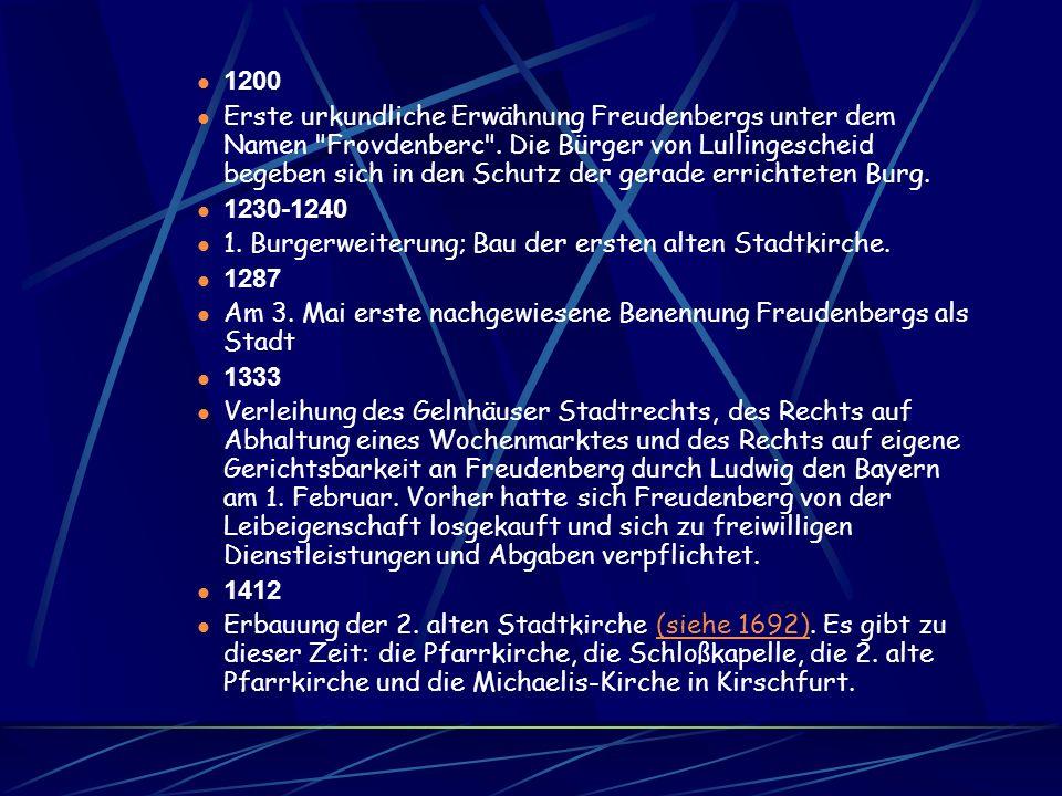 Die Freudenburg