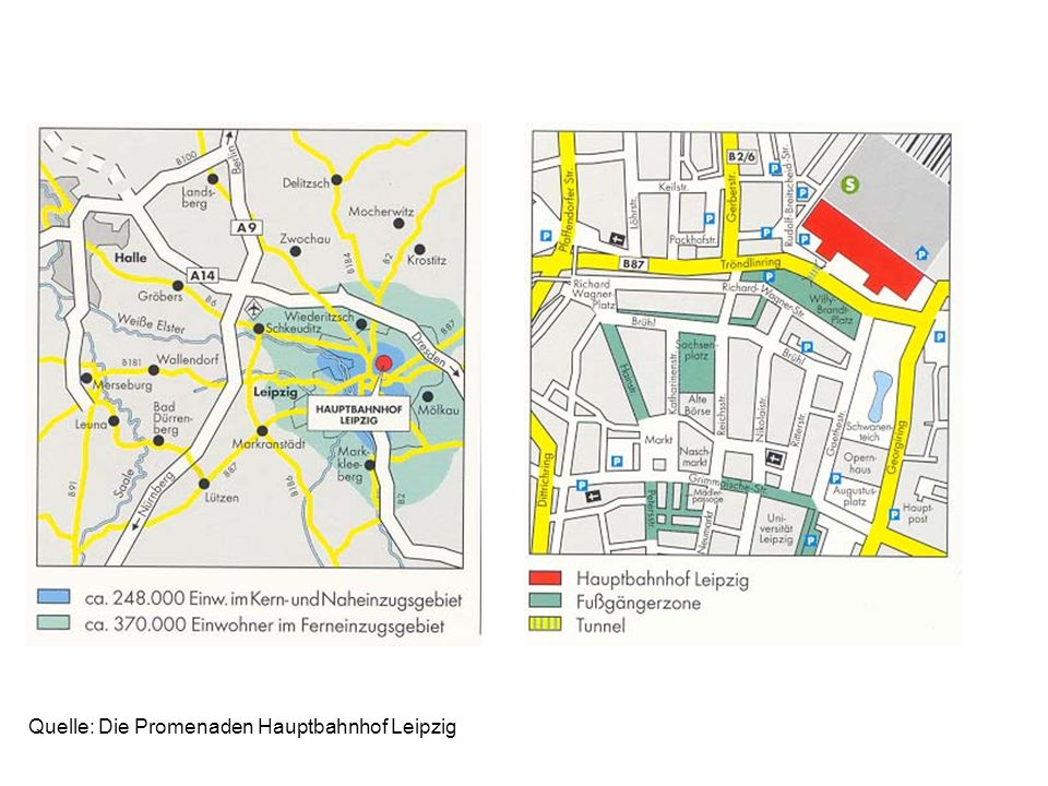 Quelle: Die Promenaden Hauptbahnhof Leipzig