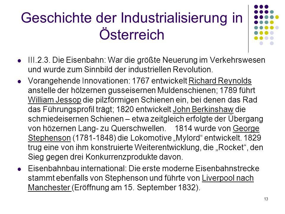 13 Geschichte der Industrialisierung in Österreich III.2.3.
