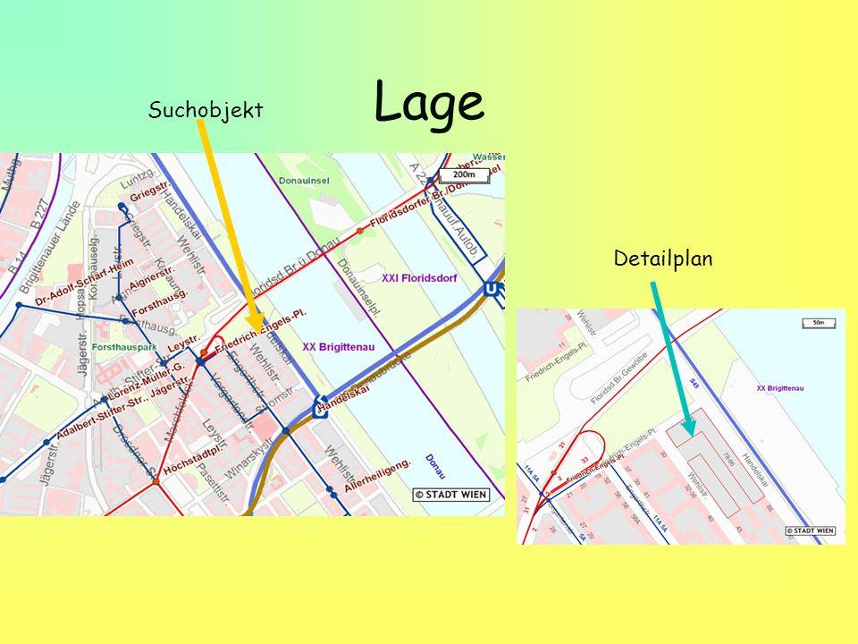 Lage Suchobjekt Detailplan