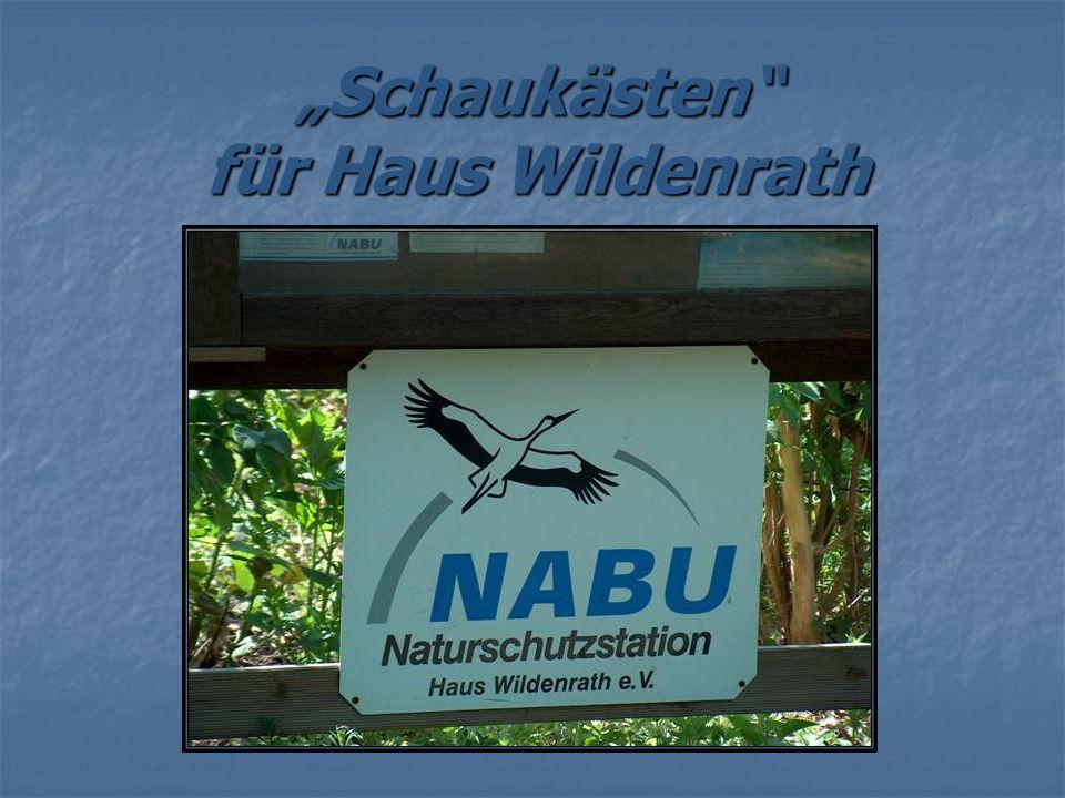 Schaukästen für Haus Wildenrath