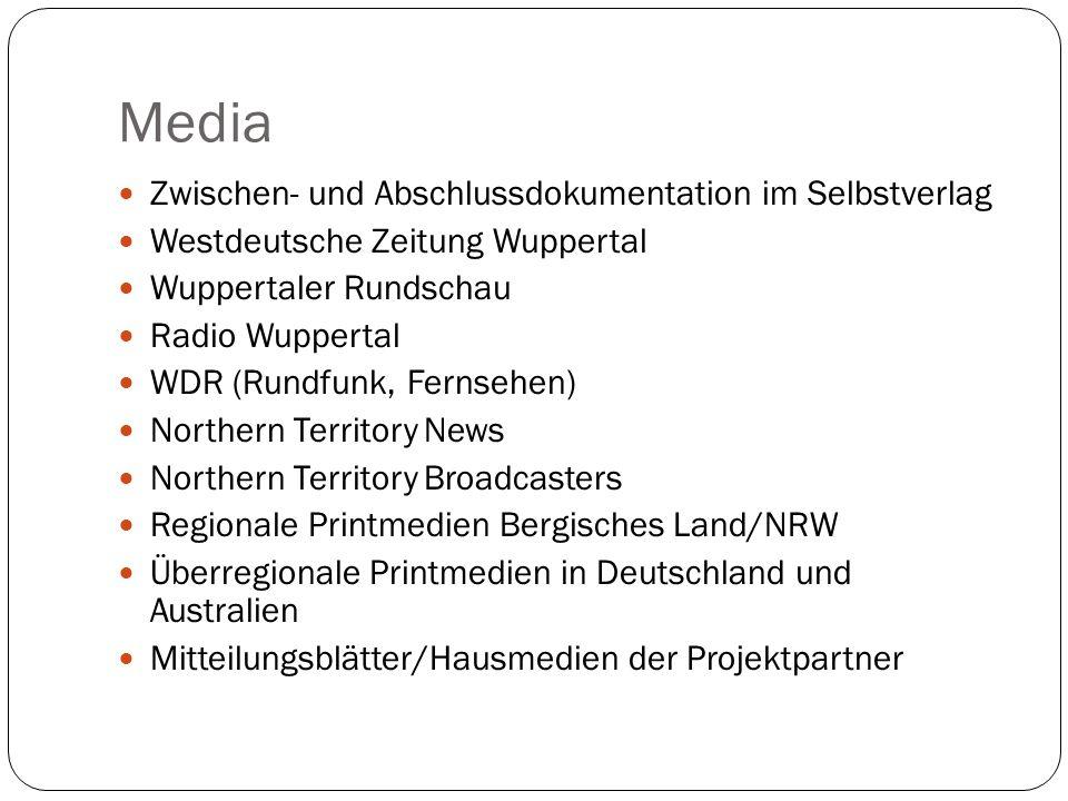 Media Zwischen- und Abschlussdokumentation im Selbstverlag Westdeutsche Zeitung Wuppertal Wuppertaler Rundschau Radio Wuppertal WDR (Rundfunk, Fernseh
