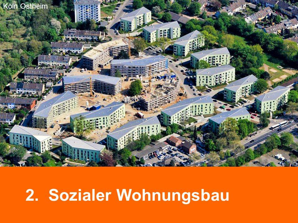 2. Sozialer Wohnungsbau Bremen Neue Vahr Köln Ostheim