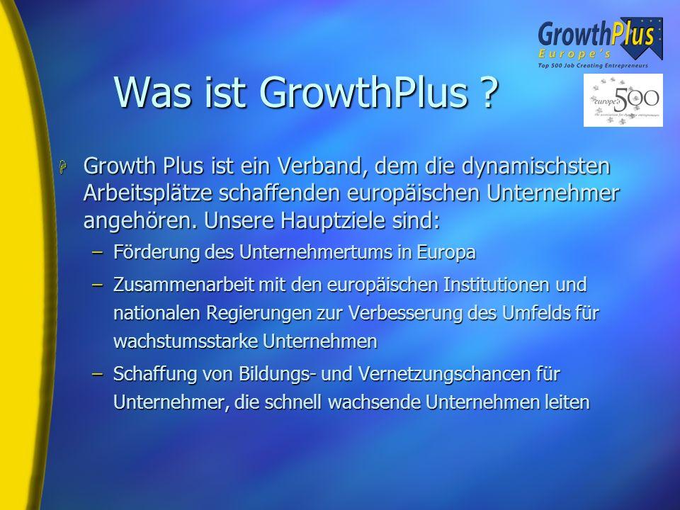 Was ist GrowthPlus .